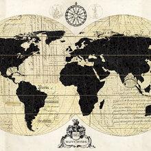 World map wallpaper atlas wall murals photowall wall mural vintage world map gumiabroncs Gallery