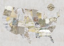 Canvas print - American Textures