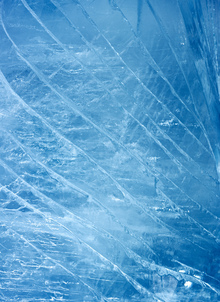 Canvas print - Ice Stripes
