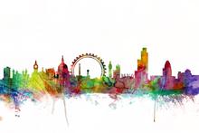 Fototapet - London Skyline