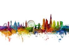 Wall mural - London Skyline 2