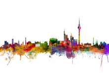 Canvas print - Berlin Skyline