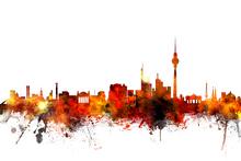 Fototapet - Berlin Skyline 2