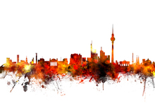 Wall mural - Berlin Skyline 2