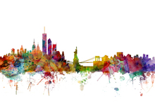 Canvas print - New York Skyline