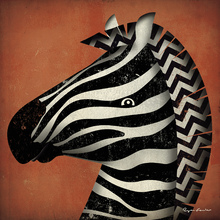 Canvas print - Ryan Fowler - Zebra