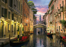 Canvas print - Venice at Dusk
