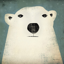 Canvastavla - Ryan Fowler - Polar Bear
