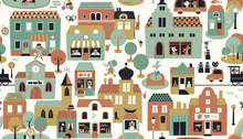 Wallpaper - Town - Green
