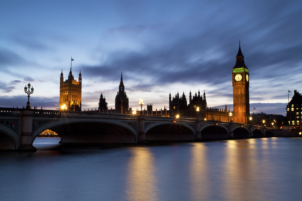 Westminster Bridge At Night Wall Mural Amp Photo Wallpaper