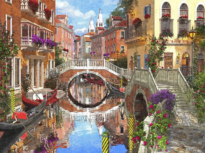 Venetian Waterway Wall Mural Amp Photo Wallpaper Photowall