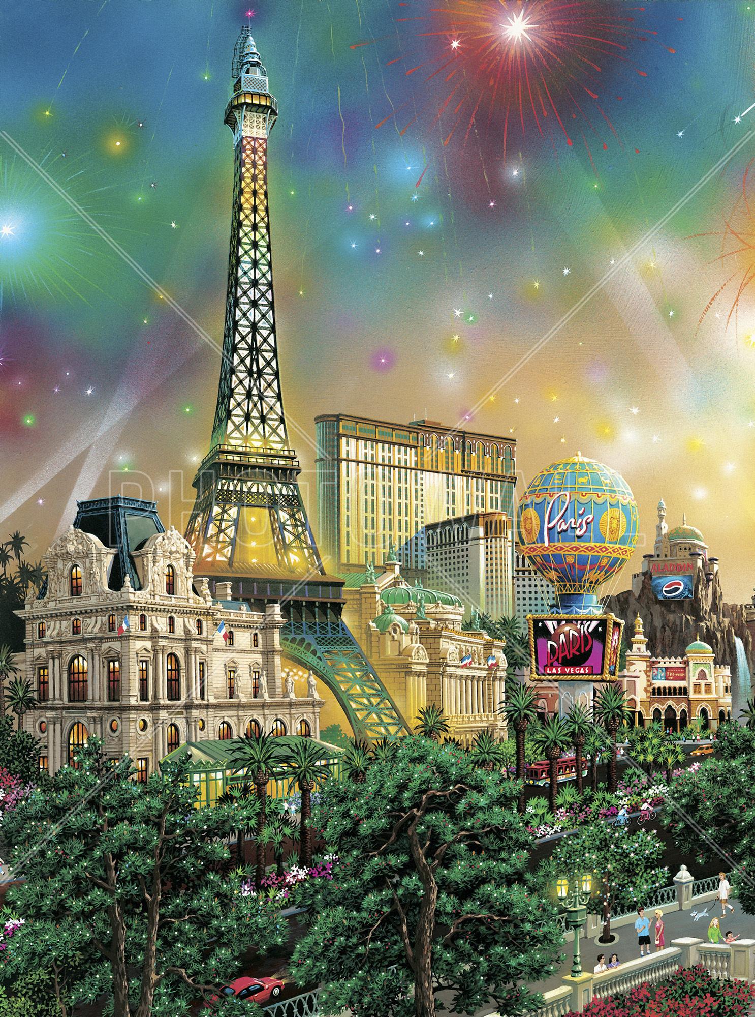 Wall Mural   Paris   Las Vegas Part 30