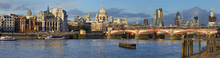 Canvas print - City of London Panorama