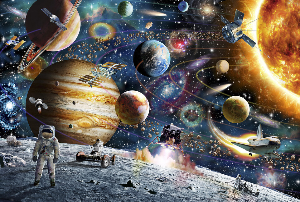 Space odyssey wall mural photo wallpaper photowall - Space odyssey wallpaper ...