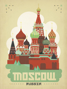 Valokuvatapetti - Moscow