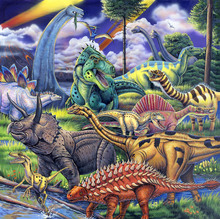 Wall mural - Dinosaur Friends