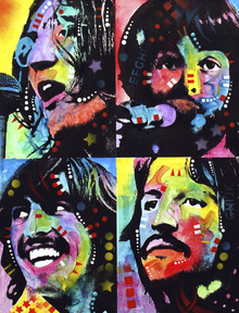 Canvas print - Beatles