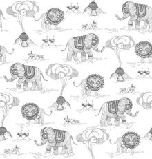 Wallpaper - Africa - Dark Grey