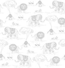 Wallpaper - Africa - Light Grey