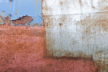 Canvastavla - Rusty Metal Wall
