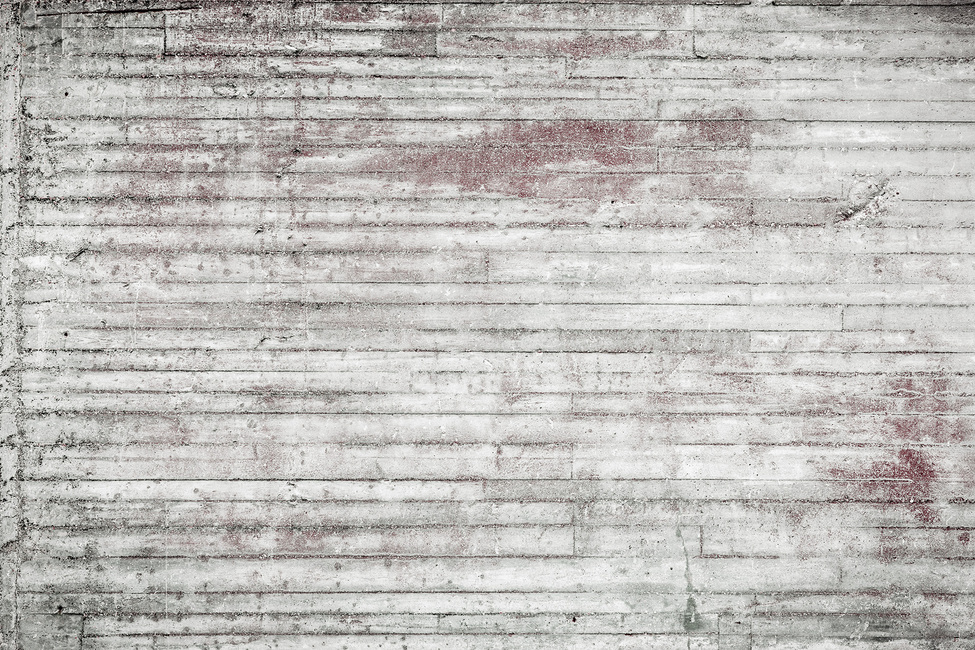White and Red Concrete Wall