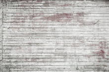 Fototapet - White and Red Concrete Wall