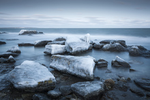 Canvas print - Ice Coast, Gotland