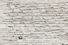 Canvastavla - Light Grey Stone Wall