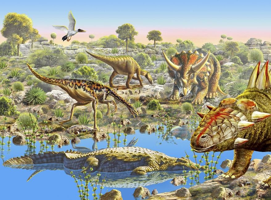 Dinosaur Valley - Wall Mural & Photo Wallpaper - Photowall