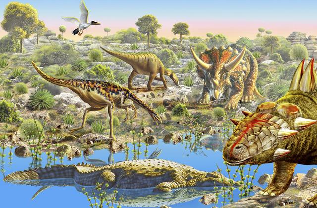 Dinosaur valley wall mural photo wallpaper photowall for Dinosaur wall mural uk
