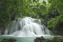 Canvastavla - Beautiful Waterfall in Thailand