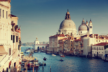 Canvastavla - Grand Canal in Venice