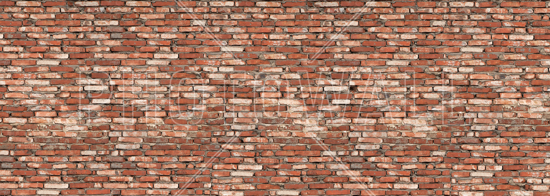 Old Brick Wall Red