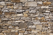 Fototapete - Stone Wall background