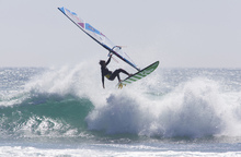 Canvas print - Windsurfing Jump