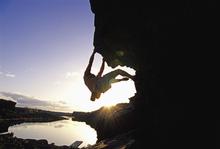 Fototapet - Bouldering in Twin Falls