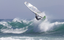 Canvastavla - Windsurfing
