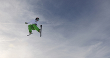Canvas print - Freestyle Skiing