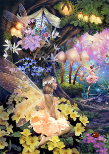 Wall mural - Fairy Hollow 2