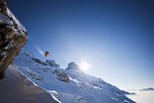 Fototapet - Perfect Ski Jumping