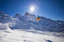 Fototapet - Beautiful Ski Day