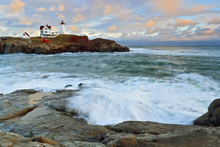 Wall mural - Nubble Sunset