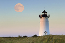 Canvastavla - Moon Over Marthas Vineyard