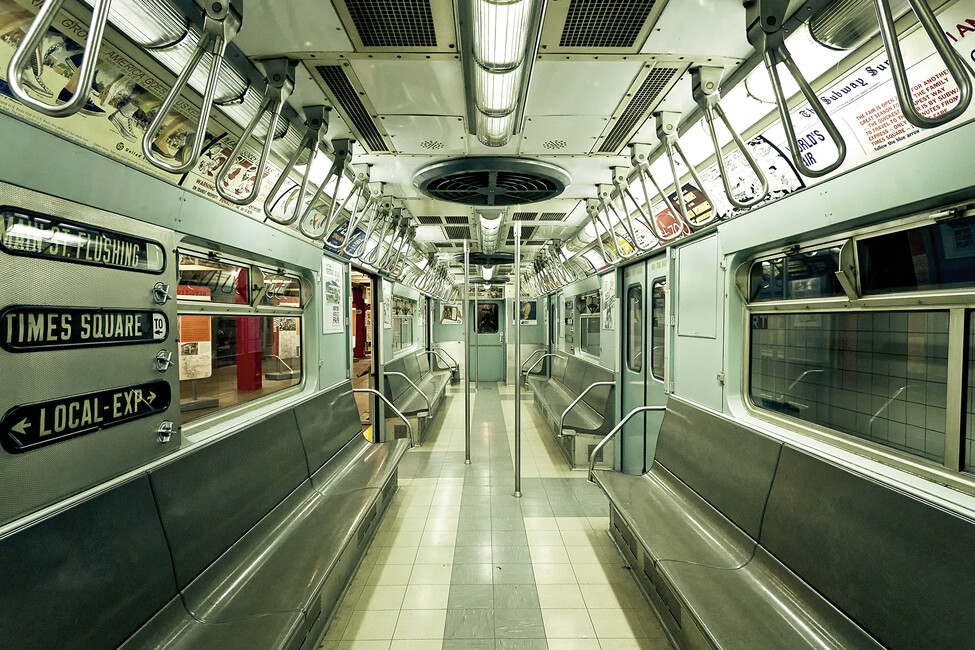 Nyc Subway Wall Mural Amp Photo Wallpaper Photowall