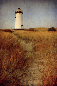 Canvastavla - To the Harbor Light
