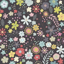 Wallpaper - Floral Art Pattern 2