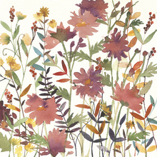 Wall mural - Autumn Flowers