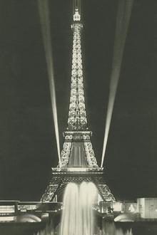 Valokuvatapetti - Eiffel Tower Lights