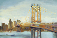 Canvas-taulu - Sunny Manhattan Bridge