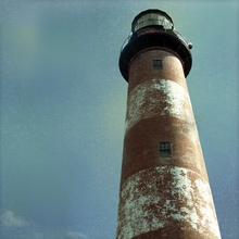 Canvastavla - Atlantic Lighthouse